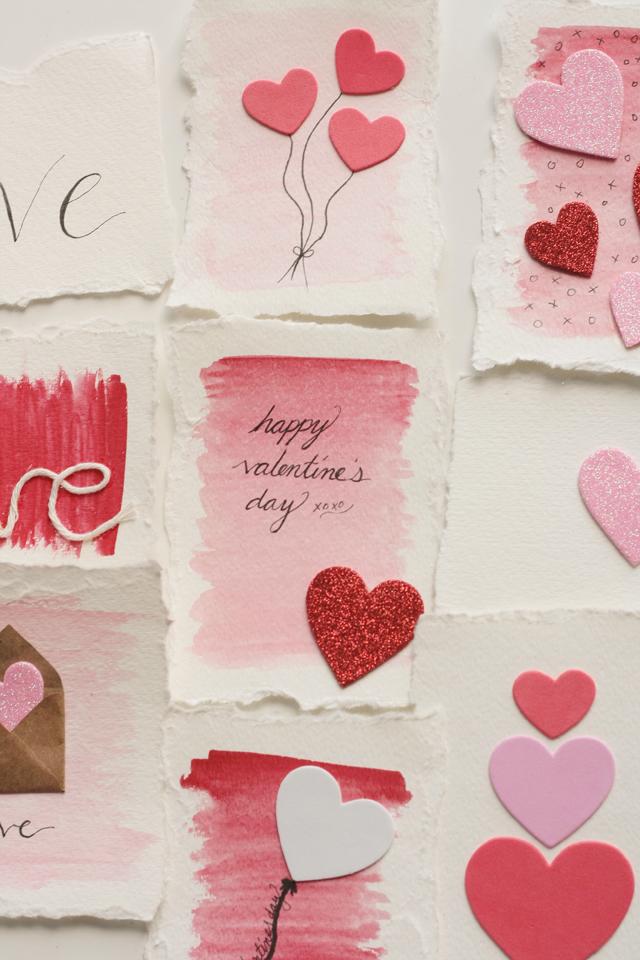 Handmade Valentine's Day cards 2016 misselainious-3