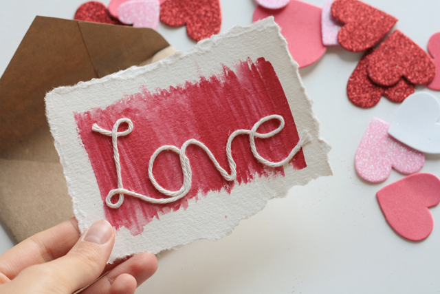 Handmade Valentines cards MISS ELAINI OUS – Valentine Day Cards Handmade