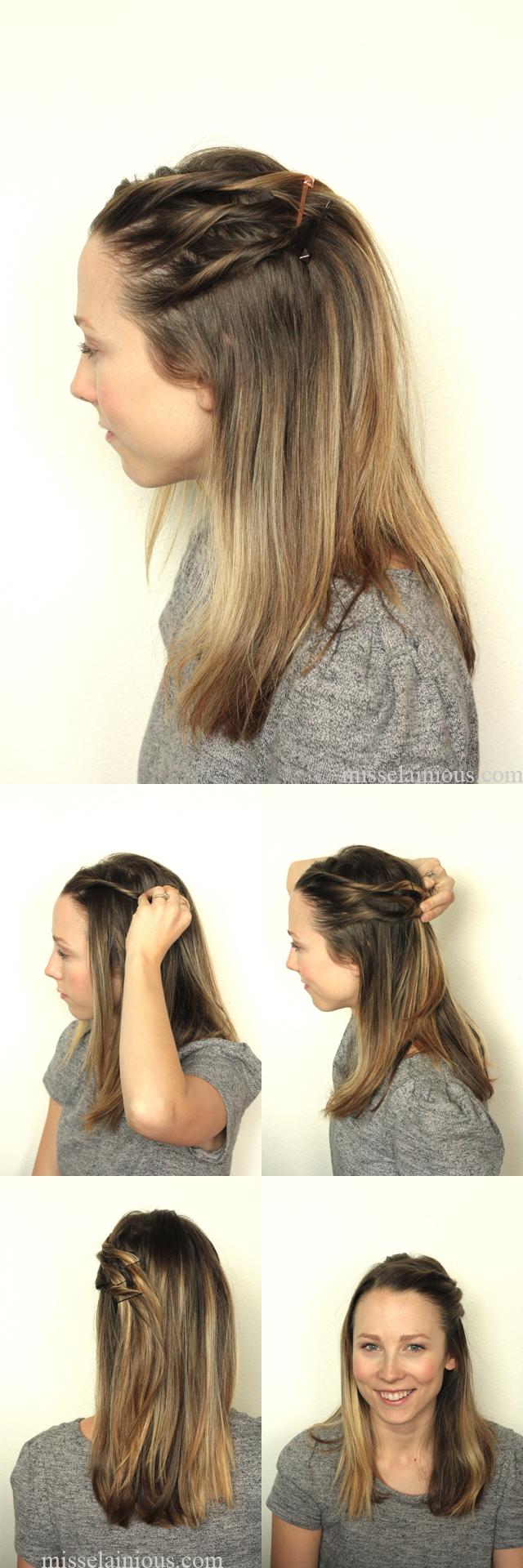 Three twist hair style | Misselainious blog